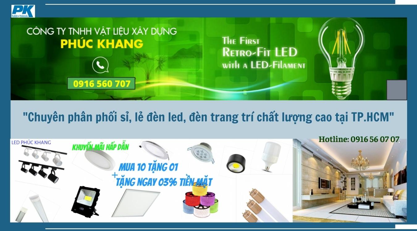 Đèn led Phúc Khang